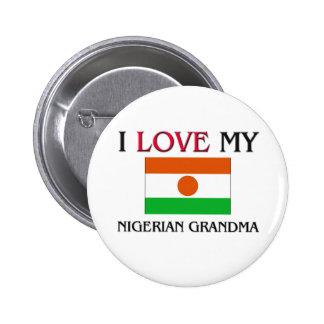 I Love My Nigerian Grandma Pins