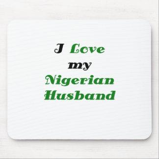 I Love my Nigerian Husband Mouse Pad