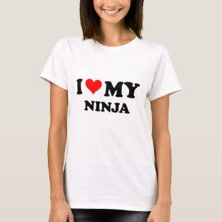 I Love My Ninja T-Shirt