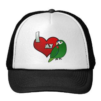 I Love my Noble Macaw Trucker Hat