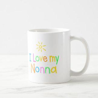 I Love My Nonna Classic White Coffee Mug