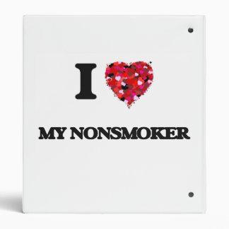 I Love My Nonsmoker 3 Ring Binder