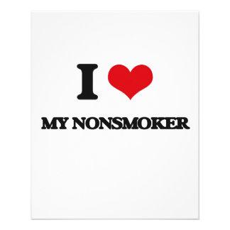 "I Love My Nonsmoker 4.5"" X 5.6"" Flyer"