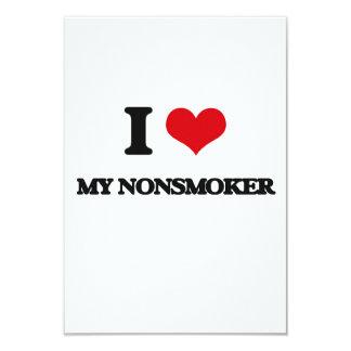 I Love My Nonsmoker Custom Announcements