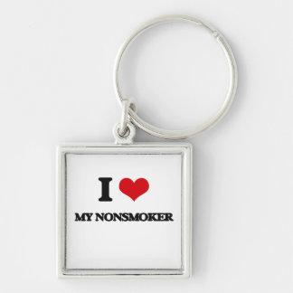 I Love My Nonsmoker Keychains