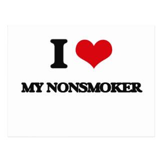 I Love My Nonsmoker Postcards