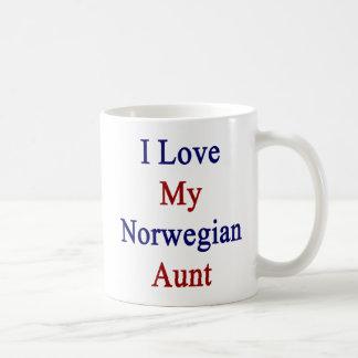 I Love My Norwegian Aunt Coffee Mug