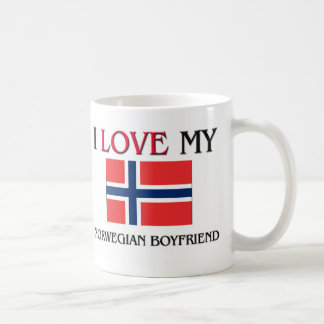 I Love My Norwegian Boyfriend Coffee Mug