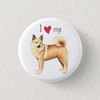 I Love my Norwegian Buhund Button