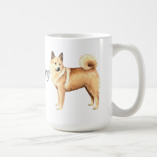 I Love my Norwegian Buhund Coffee Mug