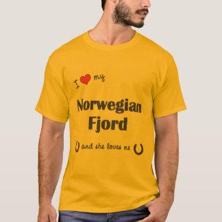 I Love My Norwegian Fjord (Female Horse) T-Shirt