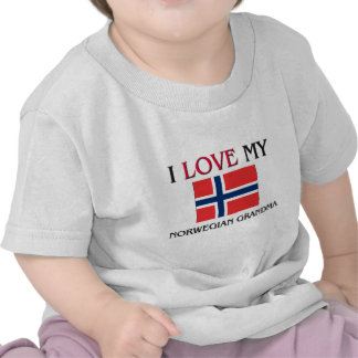 I Love My Norwegian Grandma Tee Shirt