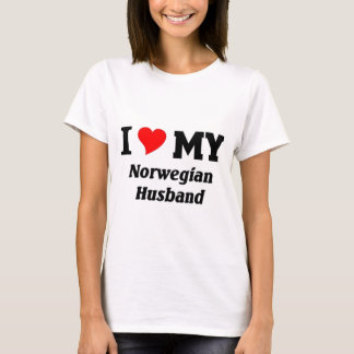 I love my Norwegian Husband T-Shirt