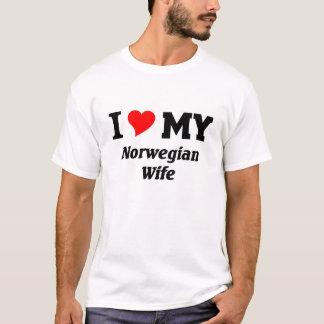 I love my Norwegian Wife T-Shirt