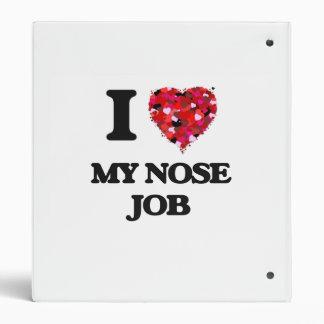 I Love My Nose Job Binders