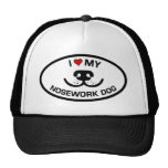 I Love my Nosework Dog Trucker Hats