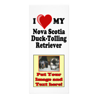 I Love My Nova Scotia Duck-Tolling Retriever Rack Card