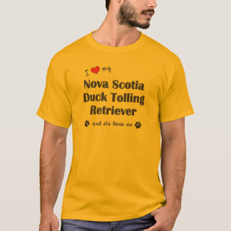 I Love My Nova Scotia Duck Tolling Retriever (She) T-Shirt