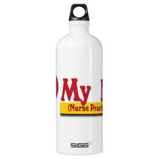 I LOVE MY NP VALENTINE - Nurse Practitioner Water Bottle