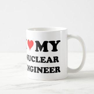 I Love My Nuclear Engineer Coffee Mug