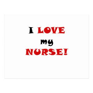 I Love my Nurse Post Cards