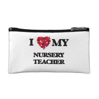 I love my Nursery Teacher Makeup Bag