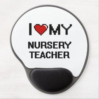I love my Nursery Teacher Gel Mouse Pad