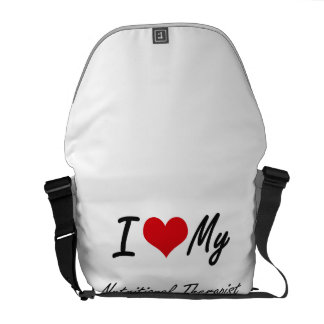 I love my Nutritional Therapist Courier Bag