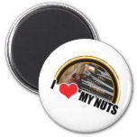 I Love My Nuts Magnets