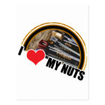 I Love My Nuts Postcards