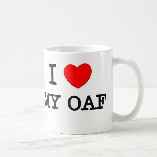 I Love My Oaf Coffee Mug