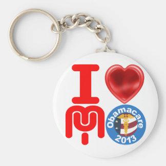 I Love My Obamacare Keychain