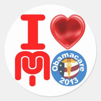 I Love My Obamacare Sticker