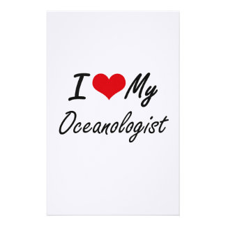I love my Oceanologist Stationery