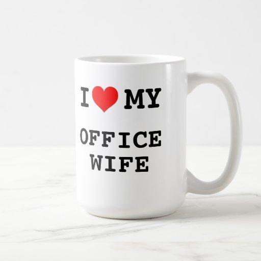 I Love My Office Wife Mugs