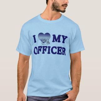 I Love My Officer T-Shirt