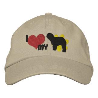 I Love my Old English Sheepdog Embroidered Baseball Cap