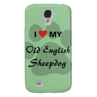 I Love My Old English Sheepdog Galaxy S4 Case