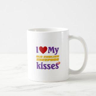 I love my Old English Sheepdog Kisses Coffee Mug