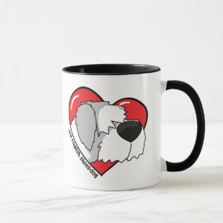 I Love my Old English Sheepdog Mug