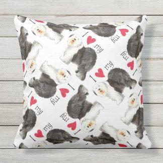Old English Sheepdog Pillows - Decorative & Throw Pillows Zazzle