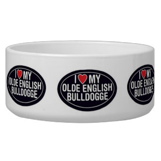 I love my olde english bulldogge bowl