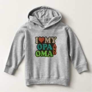 i love my oma and opa hoodie