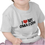 I Love My Oma And Opa T Shirt