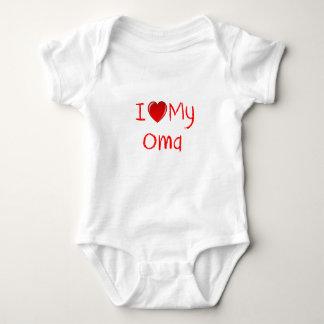 I Love My Oma Infant & Toddler T-Shirt