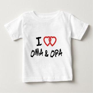 I Love My Oma & Opa T-Shirt