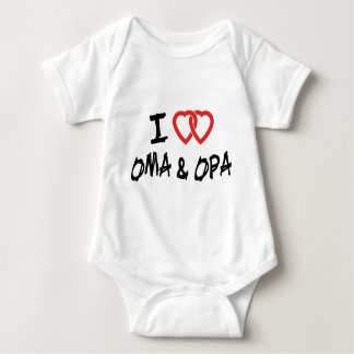 I Love My Oma & Opa T-Shirt