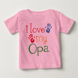 I Love My Opa (Handprints) T-shirt