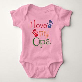 I Love My Opa (Handprints) Tee Shirt