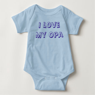 I Love My Opa Infant Creeper